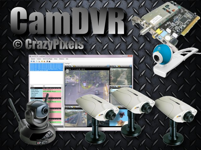 CamDVR is a Digital Video Recording software.